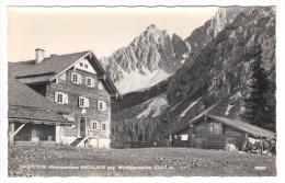 Dachstein, Alpengasthaus Bachlalm Gegen Windlegerspitze (2327m), Mit 1 Hüttenstempel, Ungelaufen - Ramsau Am Dachstein