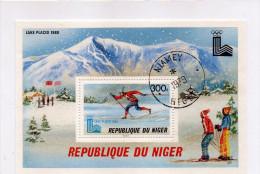 B - 1980 Niger - Olimpiadi Invernali - Lake Placid - Biathlon - Winter 1932: Lake Placid