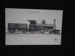 Locomotives Pour L´ Etat Danois. Coll. Fleury . N° 264. Texte En Rouge. - Danemark