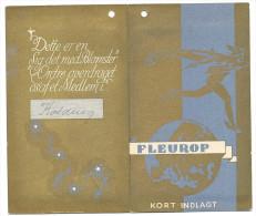 FLEUROP Denmark Very Early Flower Voucher With Greeting Card - Eintrittskarten
