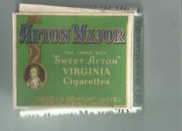 Boite De Cigarette Pas Abimé  Irland  20 Afton Major - Empty Cigarettes Boxes