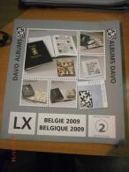 SUPPLEMENT DAVO BELGIQUE 2009 LX 2 . - Album & Raccoglitori