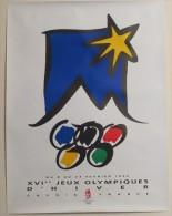 Affiche XVI° Jeux Olympiques D´hiver Albertville 1992 - Posters