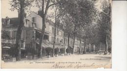 Fontainebleau  Avenue Du Chemin De Fer - Fontainebleau