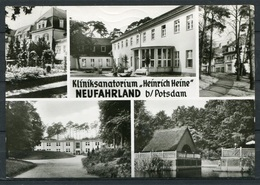 "Kliniksanatorium ""Heinrich Heine"" / Neufahrland B/Potsdam / Mehrbildkarte S/w - Gel. 1977 - DDR - N 2/76  Konsum Fotocol - Neu Fahrland"