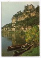 CP,24, BEYNAC, L'imposant Chateau Domine La Riviere Et Le Village, écrite - France