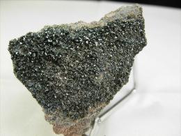 HEMATITE SUR ANDESITE  5, X 4, CM CHAINE DES PUY - Minerals