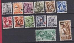 SARRE  //  Série 1947   //  N 216-228   //  Neuf ** - Saar