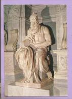 Italie - ROMA - S. Pietro In Vincoli - Il Mosé - Michelangelo - Iglesias