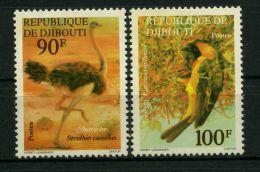 COTE DES SOMALIS  ( POSTE )  :  Y&T  N° 463/64  TIMBRES  NEUFS/MNH  SANS  TRACE  DE  CHARNIERE  ,  A  VOIR . - Côte Française Des Somalis (1894-1967)