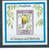 Antigua & Barbuda 1985 Vögel Mi.-Nr. Block 81 **mnh - Antigua Und Barbuda (1981-...)
