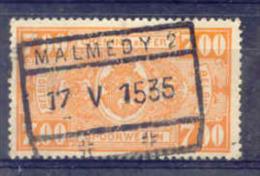 A573 Belgie Spoorwegen Met Stempel MALMEDY 2 - Ferrocarril
