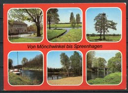 Von Mönchwinkel Bis Spreenhagen / Mehrbildkarte - Gel. 1987 - DDR - Bild Und Heimat   A1/430/84  01 05 0184/07 - Spreenhagen