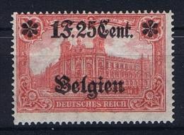 Germany, Belgium Mi N5 8 MH/* - Besetzungen 1914-18