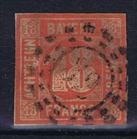 Germany Bayern: 1862 Mi 13 A Used Thin On Top - Bavaria