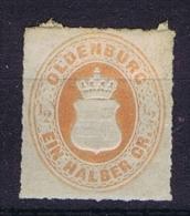 Germany  Oldenburg : 1862 Mi 16 A MH/* Cat Value 250 Euro - Oldenbourg