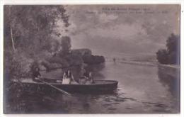 (Peintures Tableaux) 619, Salon De 1910, ND Phot 4536 Dt, Louis Jimenez, Passage De L'Oise à Chaponval - Pittura & Quadri