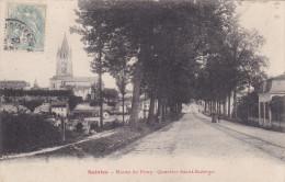 """Charente Maritime  Saintes    """" Route De Pons Quartier Saint Eutrope """" - Saintes"""