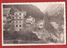 BCHA-14 Chatelard Frontière Hotel Suisse Douanier, Calèche. Petite Animation. Non Circulé. - VS Valais