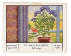 Palmin (ca 1930) - 48 Lieferanten Der Parfümgeschäfte - 3 - Heliotrop - Chromos