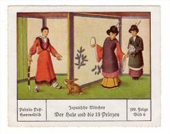 Palmin (ca 1930) - 109 Japanische Märchen - 6 - Der Haze Und Die 13 Prinzen - Chromos