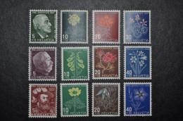 1947-49 Séries Pro Juventute Complètes * (avec Charnière) - Ungebraucht