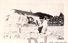 Lot De 5 Photos Photographie De 1926 : Photo Le Tréport - Places