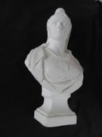 BUSTE DE MARIANNE EN PLATRE MODELE 3ème REPUBLIQUE / REPUBLIQUE FRANCAISE - Esculturas