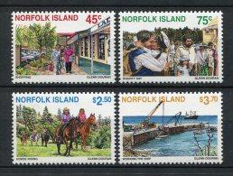Norfolk 1996. Yvert 605-08 ** MNH. - Ile Norfolk
