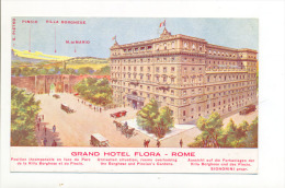 Roma Grand Hotel Flora - Cafés, Hôtels & Restaurants