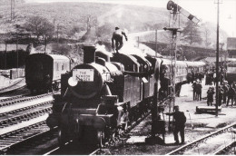 Railway Photo Card LMS Ivatt 41206 41291 TORRINGTON 1965 Loco Exmoor Ranger - Picture Cards