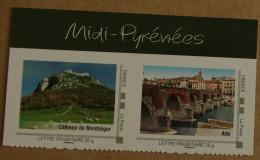 Midi-Pyrénées : Château De Montségur / Albi (autocollants) - Collectors