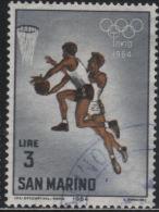21712 San Marino 1964 Olimpiadi Di Tokyo £ 3 Usato - Usati