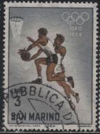 21713 San Marino 1964 Olimpiadi Di Tokyo £ 3 Usato - Usati