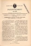 Original Patentschrift - Wladislaus Von Gutowski Auf Smuszewo Bei Wapno , 1884 , Kartoffel - Grabemaschine , Agrar !!! - Maschinen