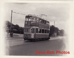 Tram Photo GLASGOW Auchenshuggle 1962 Corporation Tramways Coronation Car 1154 - Trains