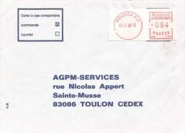"Nouvelle Caledonie 1989 Noumea RP Camp Post Office EMA With ""NR"" Prefix NR 004 Cover - Briefe U. Dokumente"