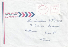 "Nouvelle Caledonie 1984 Noumea RP Camp Post Office EMA With ""PR"" Prefix PR 001 Cover - Briefe U. Dokumente"