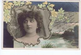 Brandon , Artiste 1900, Reutlinger , Cadre Art Nouveau Michau - Entertainers