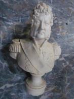 BUSTE ROI LOUIS-PHILIPPE ROI DES FRANCAIS / ROYAUTE NOBLESSE - Sculptures