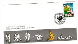 Brasil 1988 - FDC - Zomer 1988: Seoel