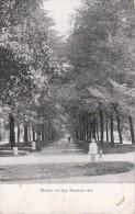 CPSM Mons - Le Boulevard - 1949 (0263) - Mons