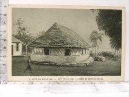 CPA Wallis Et Futuna  - LANO - Océanie - Une Case Indigène Servant De Grand Séminaire - Wallis-Et-Futuna