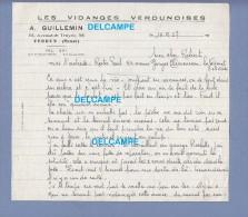 Document Ancien - VERDUN ( Meuse ) - Les Vidanges Verdunoises - A. Guillemin , Avenue De Troyon - 1957 - France