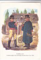 GERMANY Postcard Postillioner Der Grossherzoglich  Mechlenbourg Strelitz'schen Post 1820 - History