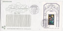 1977 HIMMELSTHUR Germany CHRISMAS EVENT COVER Miniature Sheet CHRISTMAS Stamps - Christmas