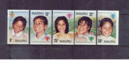 NAURU  , ** , MNH , Postfrisch , Mi.Nr. 198 - 202 - Nauru