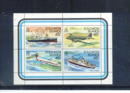 SALOMON Inseln , SOLOMON Islands , ** , MNH , Postfrisch , Mi.Nr. 413 - 416 KB - Nauru