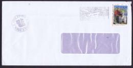 SPM  Lettre Locale 1993  Trancheur De Morue 1,80fr 575 - St.Pierre Et Miquelon