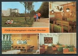 """Klink / FDGB-Erholungsheim """"Herbert Warnke"""" / Mehrbildkarte - N. Gel. - DDR - Bild Und Heimat  A1/974/85   01 03 0215/14 - Waren (Müritz)"""